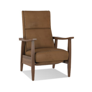 Greer_Leather_Power_Recliner Crate and Barrel
