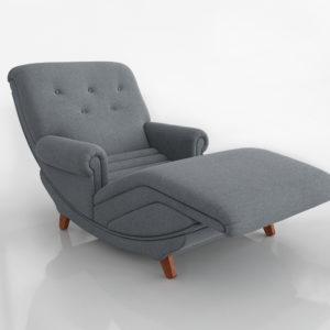 Vintage Chaise Chair