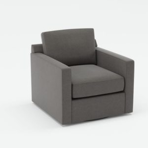 Davis Swivel Chair Сrate and Barrel