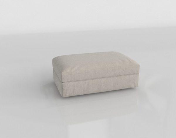 Otomana 3D C&B Lounge II Blanco