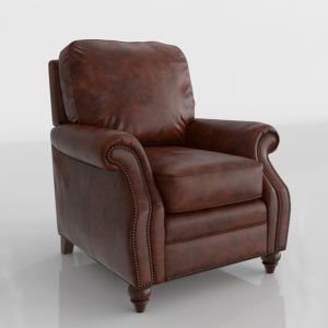 Emery Leather Recliner Raymour & Flanigan Furniture