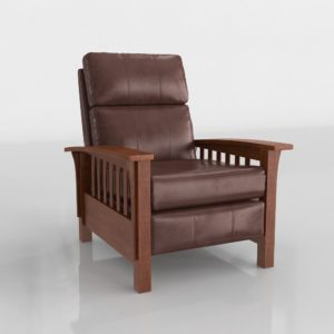 Lane Furniture Mission High Leg Recliner Olejo Stores