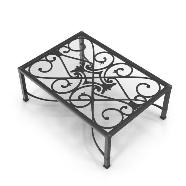 Mesa de Café 3D Living Room Iron