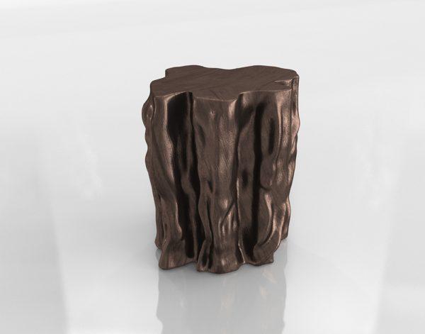 Mesa Auxiliar 3D R&H Tronco de Bronce