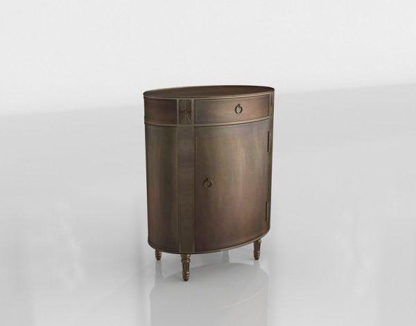 Mesa Auxiliar 3D Ballard Designs Louis