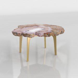 Mesa de Café 3D R&B Marble Lux