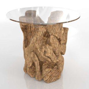 Mesa de Café 3D C&B Driftwood