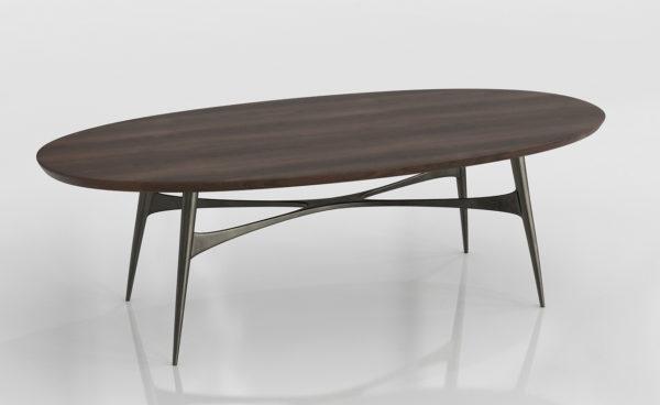 Mesa de Café 3D Polyvore Bel Air Oval