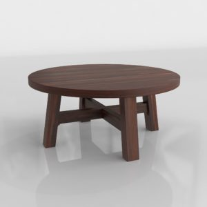Mesa de Café 3D C&B Round