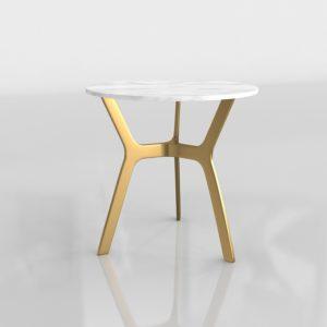 Mesa de Café 3D Alta C&B Elke Round