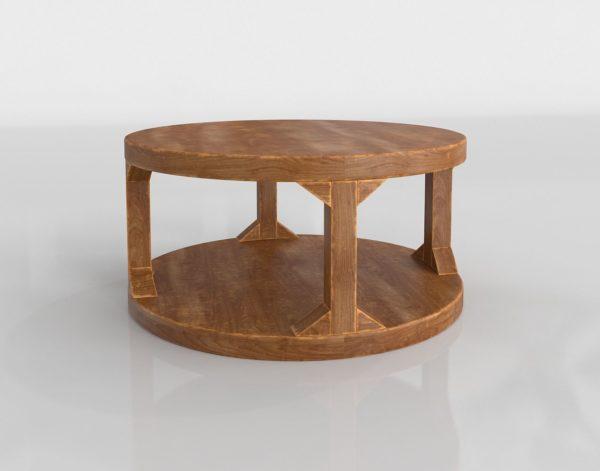 Mesa de Café 3D GE Octo de Madera