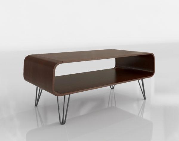 Mesa de Café 3D Overstock Astro