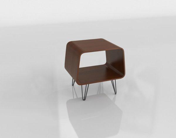 Mesa Auxiliar 3D Overstock Astro