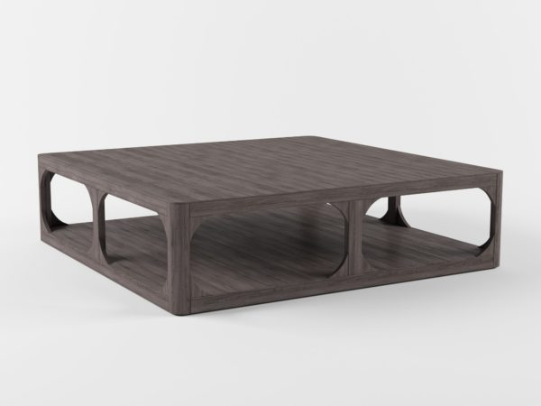 Mesa de Café 3D R&H Herringbone Cuadrada