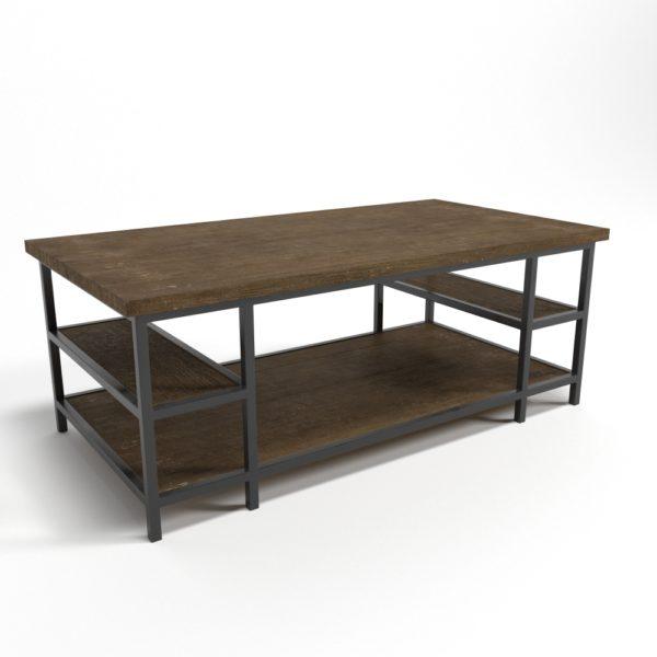 Mesa de Café 3D Living Spaces Kolh