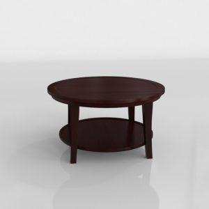 Mesa de Café 3D Pottery Barn Metropolitan