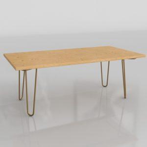 Mesa de Café 3D Style Book