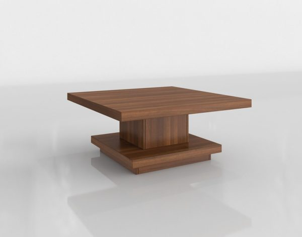 Mesa de Café 3D Overstock Knickerbocker