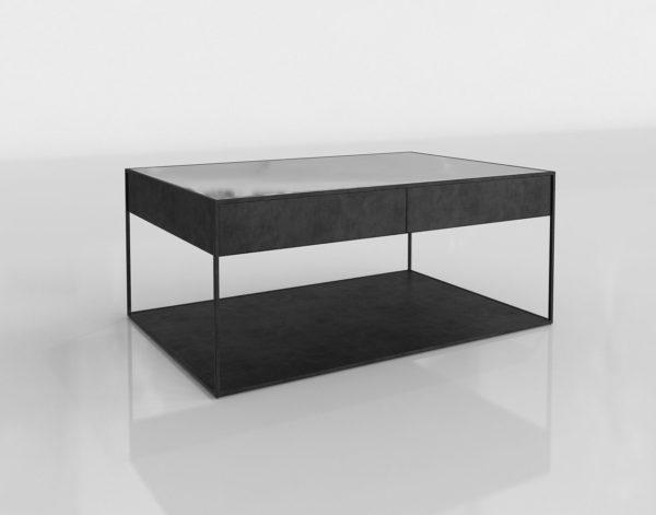 Mesa de Café 3D R&H Gramercy Narrow