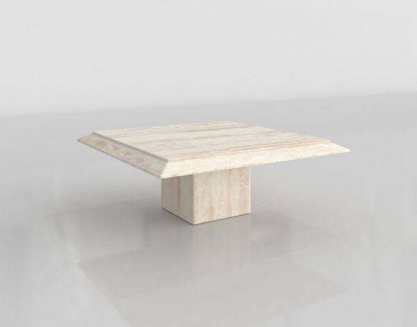 Mesa de Café 3D Decaso Cuadrada