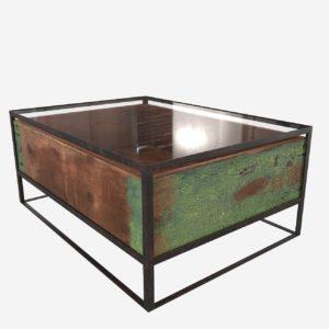 Mesa de Café 3D Cisco Brothers Glass Box