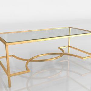 Mesa de Café 3D Safavieh Inga