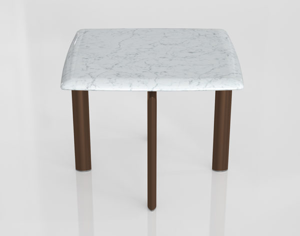 Mesa de Café 3D Artemest Sasso Carrara