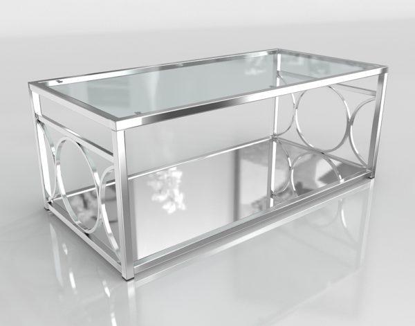 Mesa de Café 3D Overstock Mishie