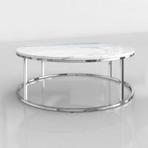 Mesa de Café 3D CB2 Smart Redonda