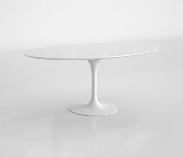 Mesa de Café 3D Rove Concepts Tulip