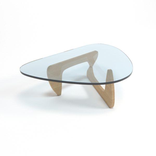 Mesa de Café 3D Noguchi Cristal