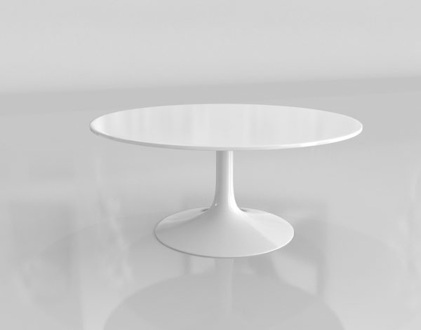 Mesa de Cocktail 3D S&R Slim Redonda