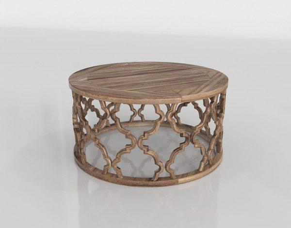 Mesa de Café 3D Houzz Cyan Sirah