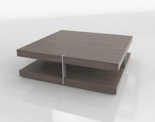 Mesa de Café 3D R&H Verranzano Cuadrada