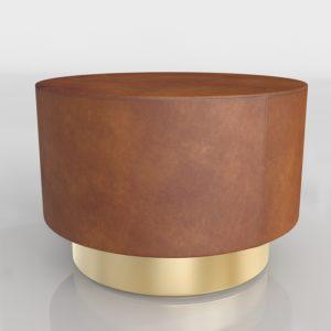 Mesa de Café 3D Pottery Barn Fleet