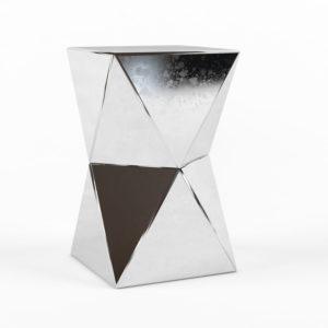 Mesa de Café 3D Wes Elm Faceted Croma