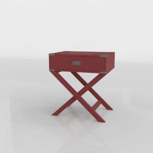 Mesa Auxiliar 3D Overstock Kenton X
