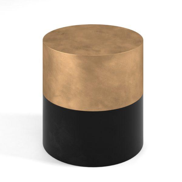Mesa de Café 3D GE Black & Golden