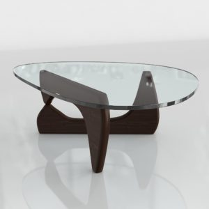 Mesa de Café 3D P&B Isamu Noguchi