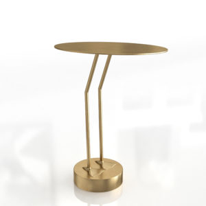 Mesa Auxiliar 3D CB2 Brass Bird