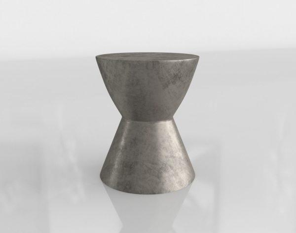 Mesa Auxiliar 3D Wayfair Logan