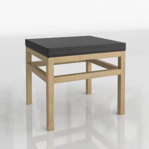 Mesa de Café 3D Casual Small