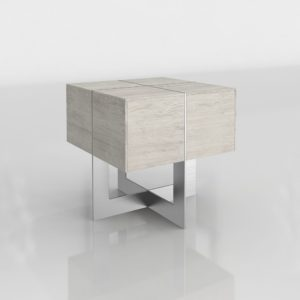 Mesa Auxiliar 3D Z Gallerie Clifton