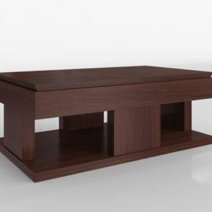 Mesa de Café 3D Wayfair Janene