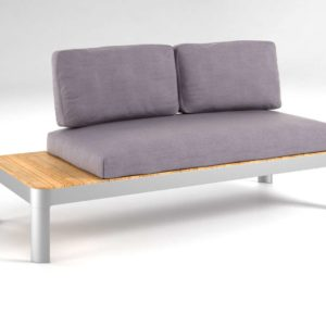 Sofá 3D Biplaza SEI Furniture Cavalla