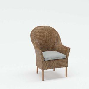 Accent Rattan Chair Palecek