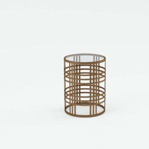 3D Large End Table Wayfair Valerio