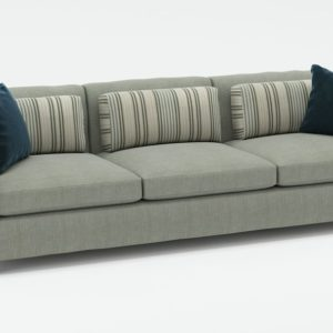 3D Sofa CB2 with Pillows