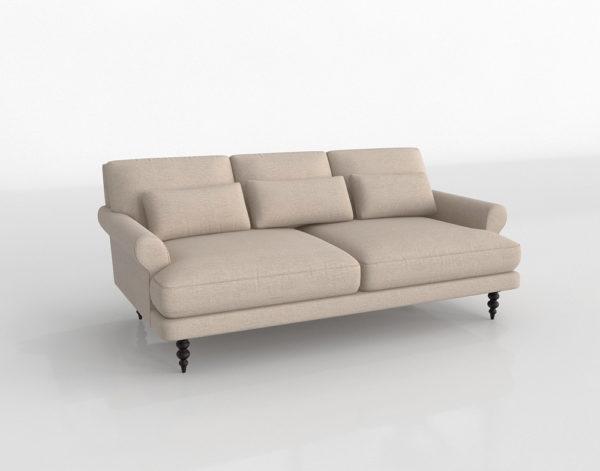 Sofá 3D Interior Define Maxwell Beige