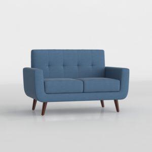 Sofá 3D Biplaza Wayfair Rumsey